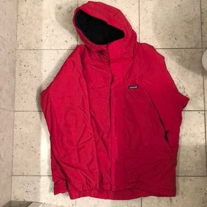 Patagonia Winter Jacket With Fleece Interior